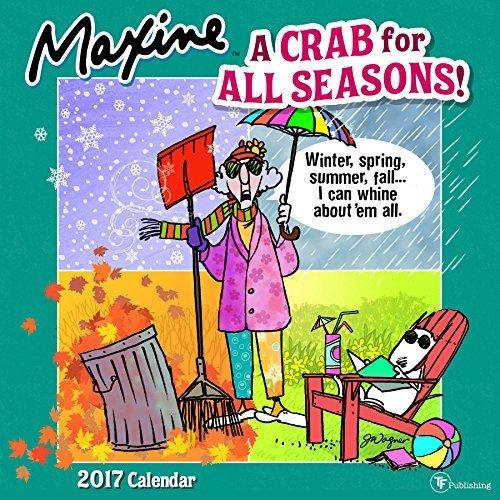 2017 Maxine by Hallmark Wall Calendar