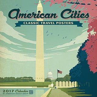American Cities Classic Posters 2017 Wall Calendar