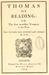 Thomas Of Reading