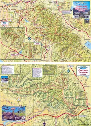 Santa Ana Mountains & Chino Hills State Park Map