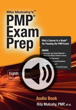 Pmp exam prep eighth edition audio book by rita mulcahy 33727537 fandeluxe Image collections