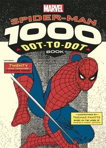 Marvel's Spider-Man 1000 Dot-To-Dot Book