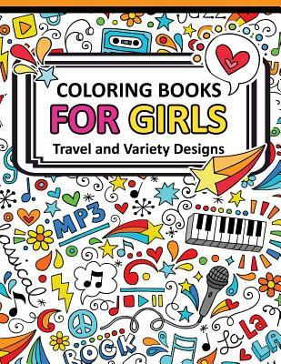 Coloring Book for Girls Doodle Cutes: The Really Best Relaxing Colouring Book for Girls 2017 (Cute, Animal, Dog, Cat, Elephant, Rabbit, Owls, Bears, Kids Coloring Books Ages 2-4, 4-8, 9-12)