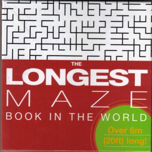 The Longest Maze Book in the World
