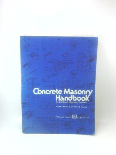 Concrete Masonry Handbook for Architects Engineers Builders (5th ed) (EB-008)