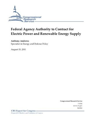 Federal Agency Authority to Contract for Electric Power and Renewable Energy Supply