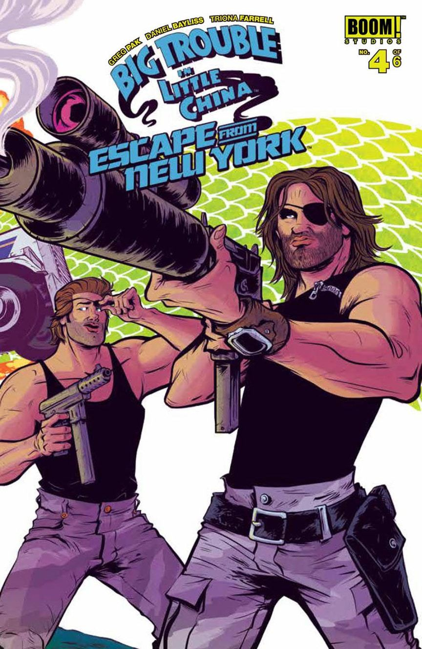 Big Trouble in Little China/Escape From New York #4