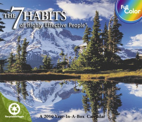 7 Habits of Highly Effective People 2010 Box Calendar
