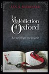 La malédiction d'Oxford by A.A. McDonald