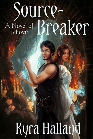 Fantasy romance review: 'Source-Breaker' by Kyra Halland