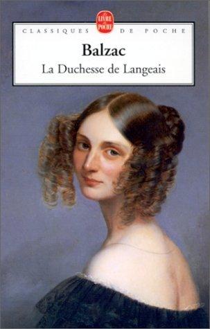 La Duchesse De Langeais by Honoré de Balzac