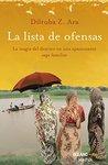 Lista de ofensas (Versión Hispanoamericana) (Novela)