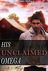 Book Cover His Unclaimed Omega by L.C. Davis