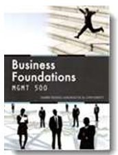 Business Foundations - BUSW 500
