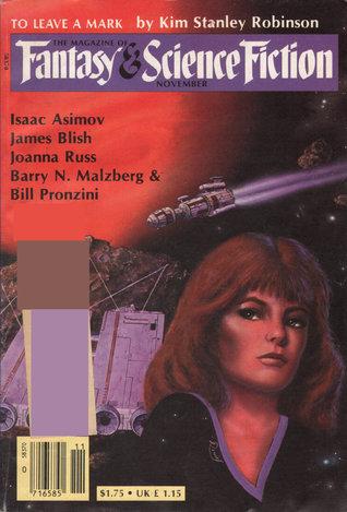 The Magazine of Fantasy & Science Fiction, November 1982 (The Magazine of Fantasy & Science Fiction, #378)