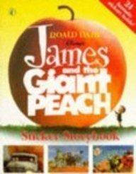 James and the Giant Peach Sticker Storybook Pb