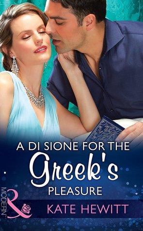 A Di Sione For The Greeks Pleasure(The Billionaires Legacy 6)