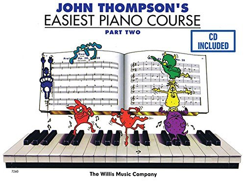 John Thompson's Easiest Piano Course - Part 2 - Book/CD Pack