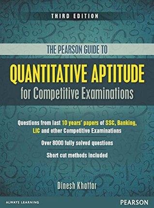 The Pearson Guide to Quantitative Aptitude for Competitive Examinations, 3/e