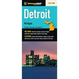 Detroit, Michigan City Street Map