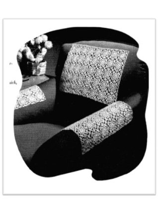 #2480 CHAIR COVERS VINTAGE CROCHET PATTERN