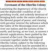 Covenant of the Oberlin Colony
