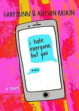 Image result for i hate everyone but you book cover