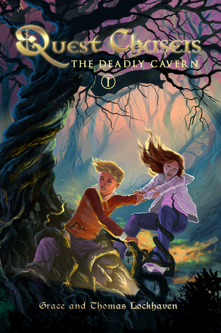 The Deadly Cavern (Quest Chasers, #1)