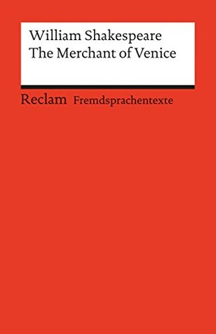 The Merchant of Venice: Reclams Rote Reihe - Fremdsprachentexte