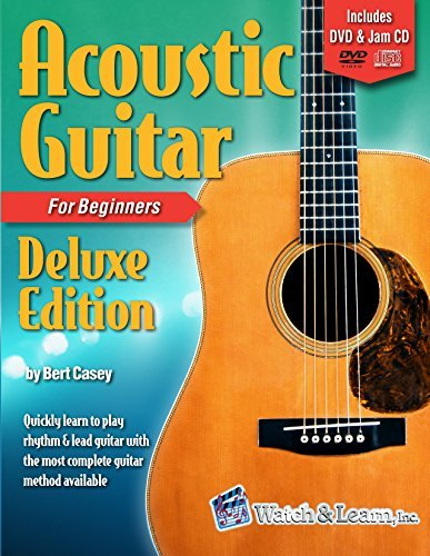 Acoustic Guitar Primer Book for Beginners - Deluxe Edition