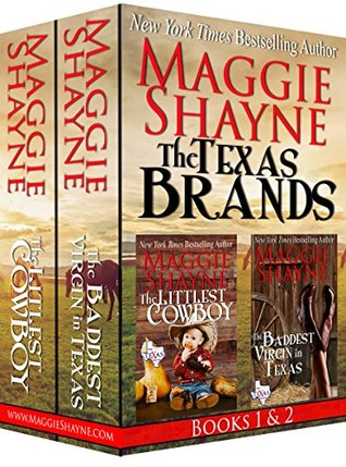 The Texas Brands Books 1 & 2: The Littlest Cowboy and The Baddest Virgin in Texas