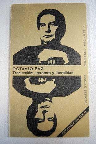 Traduccion: Literatura y Literalidad