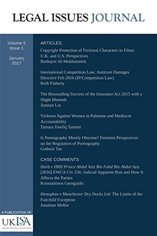 International Competition Law: The Antitrust Damages Directive Feb 2016: Legal Issues Journal 5(1)