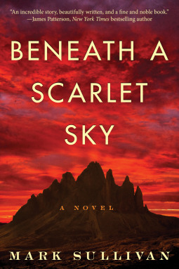 Image result for beneath a scarlet sky