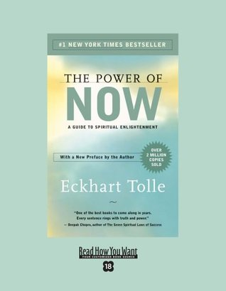 The Power of Now (EasyRead Super Large 18pt Edition): A Guide to Spiritual Enlightenment