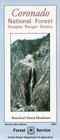 Coronado National Forest Map (douglas ranger district) - Waterproof