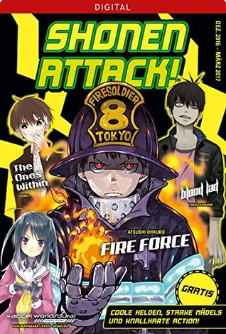 Shonen attack magazin #1: dezember 2016 bis märz 2017 by Atsushi Ohkubo