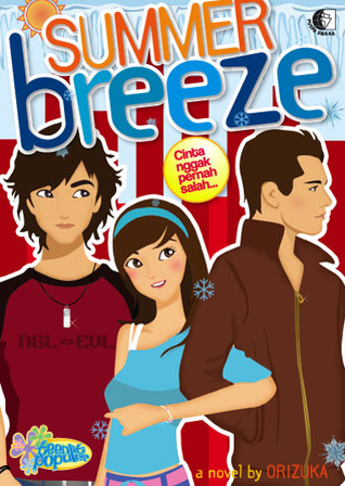Hasil gambar untuk Novel Summer Breeze – karya orizuka