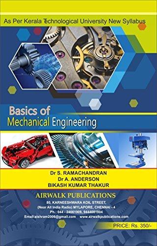 Basics Of Mechanical Engineering: KL