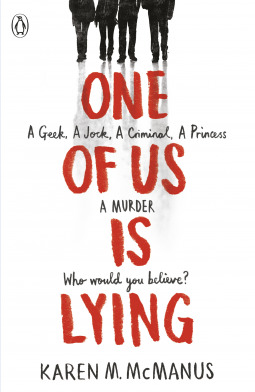 Image result for one of us is lying book