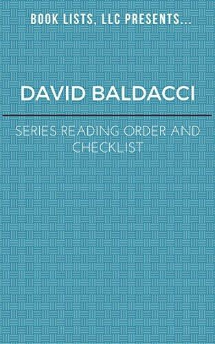 David Baldacci Series Order and Checklist