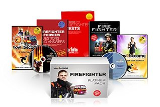 FIREFIGHTER Recruitment PLATINUM Package Box Set, How to Become a Firefighter Book, Firefighter Interview Questions and Answers, Firefighter Tests, ... DVD, Fitness CD (How2become) (Career Kit)