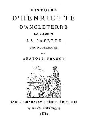 Histoire d'Henriette d'Angleterre
