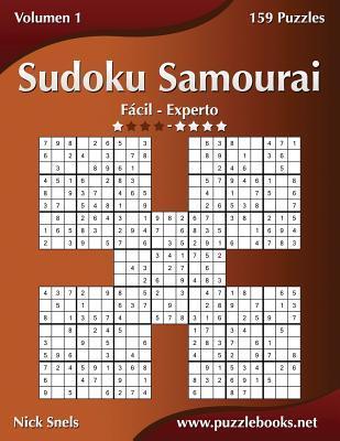 Sudoku Samurai - de F�cil a Experto - Volumen 1 - 159 Puzzles
