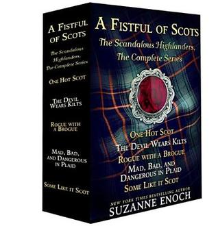 A Fistful of Scots: The Scandalous Highlanders, #1-4