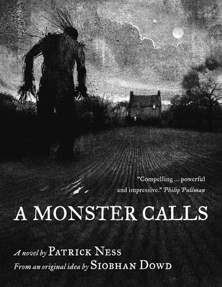 Image result for a monster calls book cover