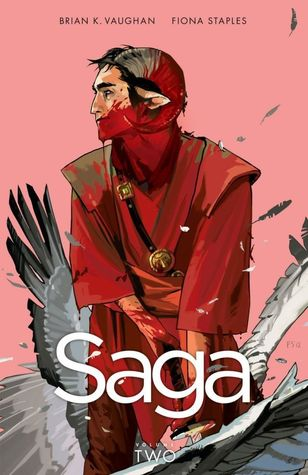 book cover for Saga volume 2