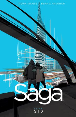 book cover for volume 6 of Saga