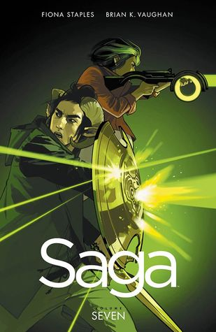 book cover for Saga Volume 7