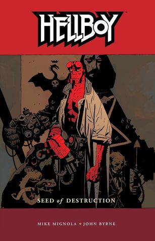 book cover for Hellboy volume 1